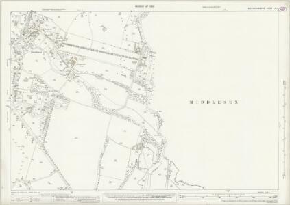 Buckinghamshire LIV.1 (includes: Denham; Uxbridge) - 25 Inch Map