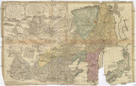Tatariae Sinensis mappa geographica