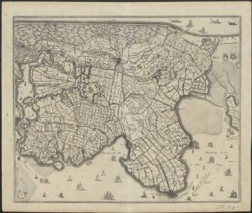 [Map of the northern part of Noord-Holland]