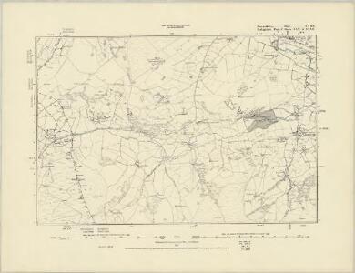 Merionethshire VI.SW - OS Six-Inch Map