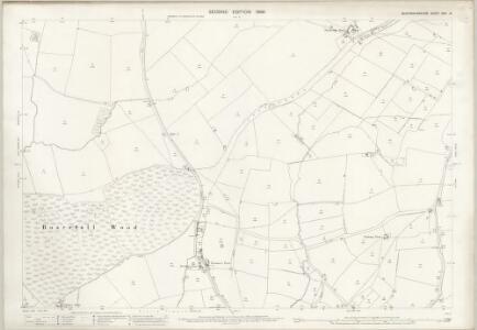Buckinghamshire XXVI.16 (includes: Boarstall; Brill; Oakley) - 25 Inch Map