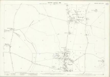Berkshire XXVII.13 (includes: Chieveley; Winterbourne) - 25 Inch Map