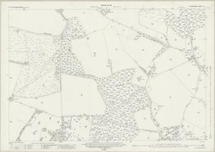 Oxfordshire L.6 (includes: Britwell; Swyncombe; Watlington) - 25 Inch Map