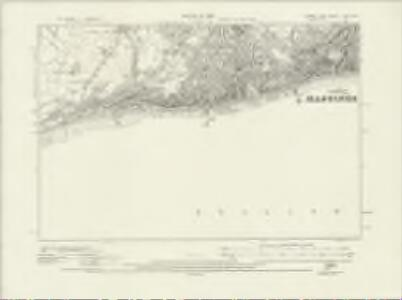 Sussex LXXI.NW - OS Six-Inch Map