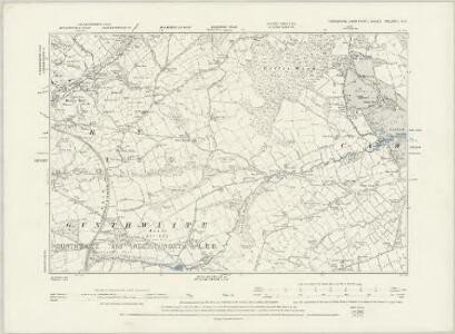 Yorkshire CCLXXIII.NW - OS Six-Inch Map
