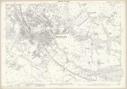Yorkshire CCI.6 (includes: Bingley; Shipley) - 25 Inch Map