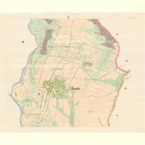 Eilowitz (Gilowec) - m1106-1-002 - Kaiserpflichtexemplar der Landkarten des stabilen Katasters