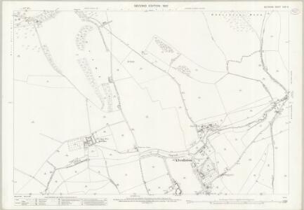 Wiltshire LXIX.12 (includes: Alvediston; Ansty; Ebbesbourne Wake) - 25 Inch Map