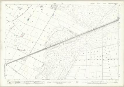 Lancashire CIX.11 (includes: Croft; Rixton With Glazebrook; Woolston) - 25 Inch Map
