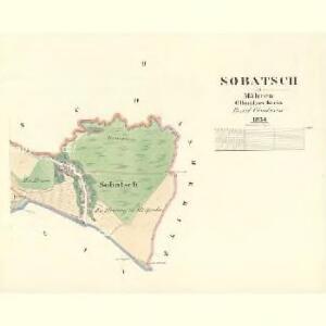 Sobatsch - m2803-1-002 - Kaiserpflichtexemplar der Landkarten des stabilen Katasters