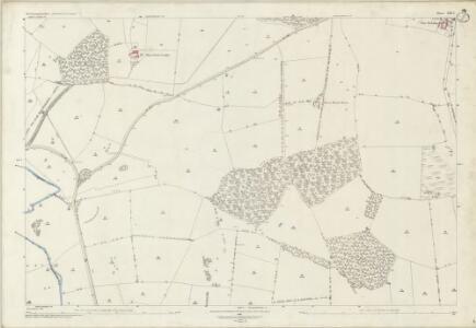 Northamptonshire XIII.1 (includes: Apethorpe; Kings Cliffe; Nassington; Woodnewton) - 25 Inch Map