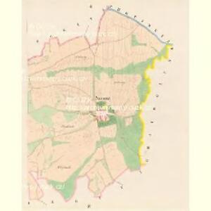 Swonitz (Swonic) - c7661-1-002 - Kaiserpflichtexemplar der Landkarten des stabilen Katasters