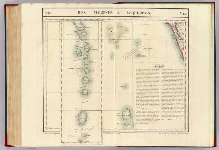 Iles Maldives et Laquedives. Asie 107.