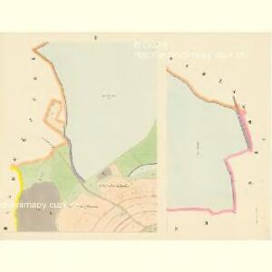 Hosterschlag - c1041-1-001 - Kaiserpflichtexemplar der Landkarten des stabilen Katasters