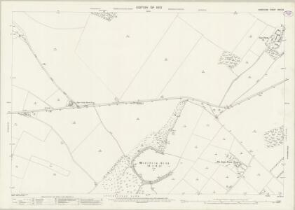 Hampshire and Isle of Wight XXXII.13 (includes: Leckford; Little Somborne; Stockbridge) - 25 Inch Map