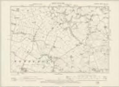 Cheshire XXVII.NE - OS Six-Inch Map