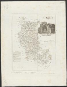 [Atlas départemental : La France et ses colonies] No. 41 Loire