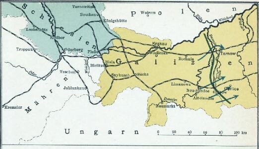 Nr. 13. Der Durchbruch bei Tarnow-Gorlice. (2. Mai 1915.)