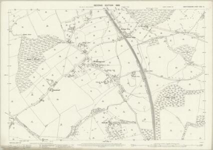 Hertfordshire XXXV.15 (includes: Bishops Hatfield; North Mimms) - 25 Inch Map