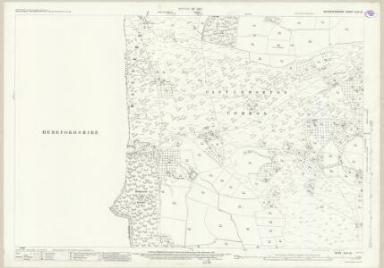 Worcestershire XLVI.16 (includes: Castlemorton; Eastnor; Ledbury Rural; Little Malvern) - 25 Inch Map