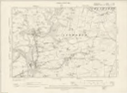 Derbyshire V.NW - OS Six-Inch Map