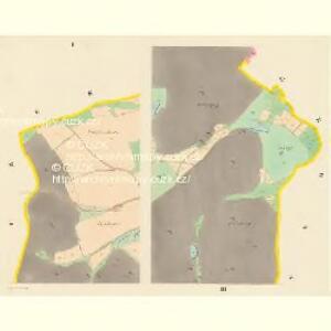 Kwitkowitz - c3760-1-001 - Kaiserpflichtexemplar der Landkarten des stabilen Katasters