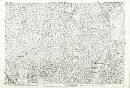 Gloucestershire XXXIX.6 (includes: West Dean) - 25 Inch Map