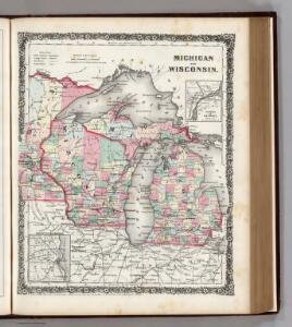 Michigan and Wisconsin.