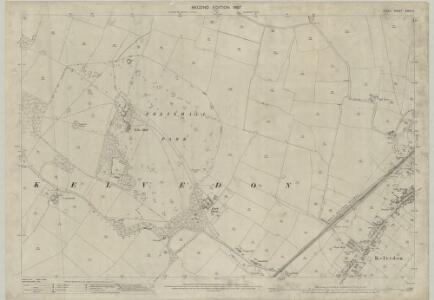 Essex (1st Ed/Rev 1862-96) XXXV.6 (includes: Kelvedon) - 25 Inch Map