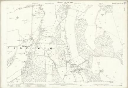 Berkshire XXVIII.16 (includes: Pangbourne; Purley; Sulham; Tidmarsh; Tilehurst) - 25 Inch Map