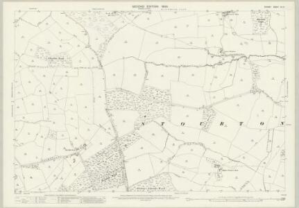 Dorset XII.3 (includes: Bishops Caundle; Caundle Marsh; Haydon; Purse Caundle; Stourton Caundle) - 25 Inch Map