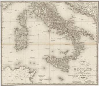 Regno delle due Sicile con parte degli stati limitrofi