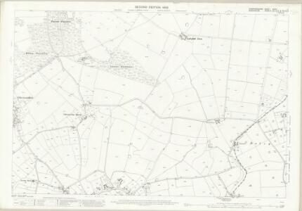 Staffordshire XXVIII.11 (includes: Adbaston; Cheswardine; Eccleshall) - 25 Inch Map