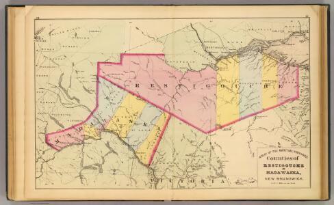 Restigouche, Madawaska counties, N.B.