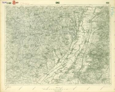III. vojenské mapování 4666