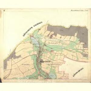 Rosenhain - c6598-1-004 - Kaiserpflichtexemplar der Landkarten des stabilen Katasters