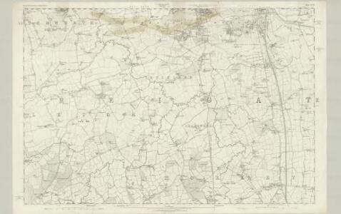 Surrey XXXIV - OS Six-Inch Map