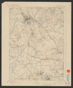 Lawrence quadrangle, Massachusetts