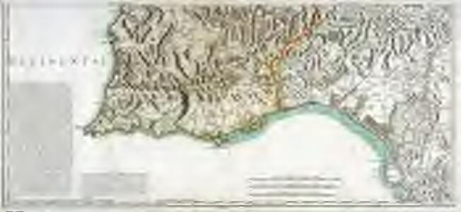Mapa general del reyno de Portugal, 4