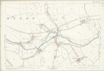 Suffolk LXXI.9 (includes: Ashen; Birdbrook; Ridgewell; Stoke by Clare; Wixoe) - 25 Inch Map