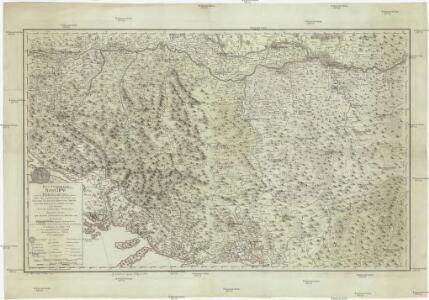 Das Koenigreich Bosnien, und die Herzegovina (Rama) samt den angraenzenden Provinzen von Croatien, Sclavonien, Temesvar, Servien, Albanien, Ragusa, und dem Venetianischen Dalmatien