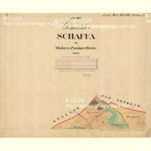 Schaffa - m2998-1-001 - Kaiserpflichtexemplar der Landkarten des stabilen Katasters