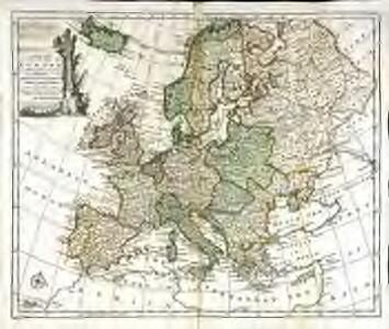 A new and accurate map of Europe