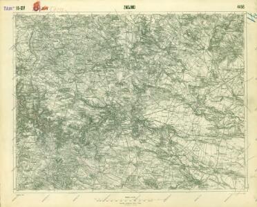 III. vojenské mapování 4456