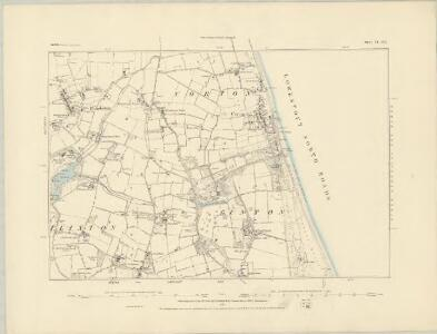 Suffolk IV.SW - OS Six-Inch Map