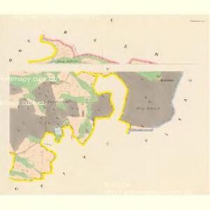Chanowitz (Chanowice) - c2474-1-001 - Kaiserpflichtexemplar der Landkarten des stabilen Katasters