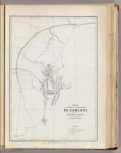 Plano de caminos, Departamento de Amazonas.