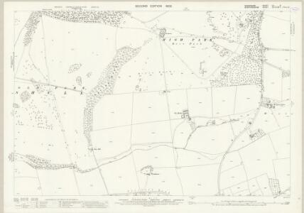 Shropshire LII.8 (includes: Boningale; Patshull; Pattingham; Wrottesley) - 25 Inch Map