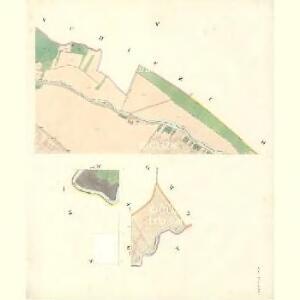 Ostra Vorstadt (Ostrowse Předmwstj) - m2196-1-004 - Kaiserpflichtexemplar der Landkarten des stabilen Katasters