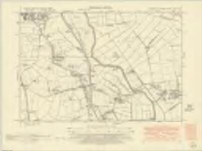 Yorkshire CCXI.SW - OS Six-Inch Map